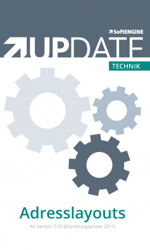 Technik UPDATE Adresslayouts