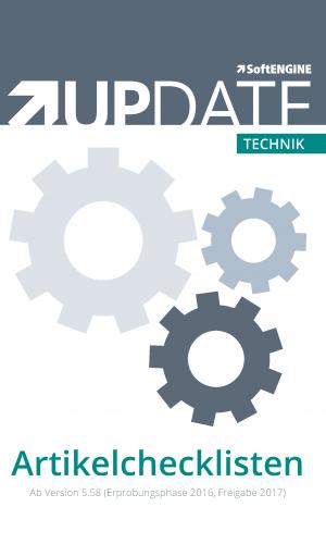 Technik UPDATE Artikelchecklisten