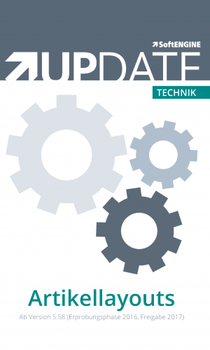 Technik UPDATE Artikellayouts