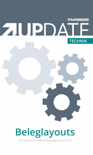 Technik UPDATE Beleglayouts
