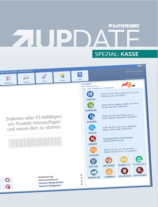 SoftENGINE UPDATE Spezial: Kasse